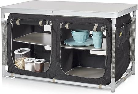 Armario de camping Nancy Campart Travel CU-0721 – 2 x 2 compartimentos – Marco de aluminio