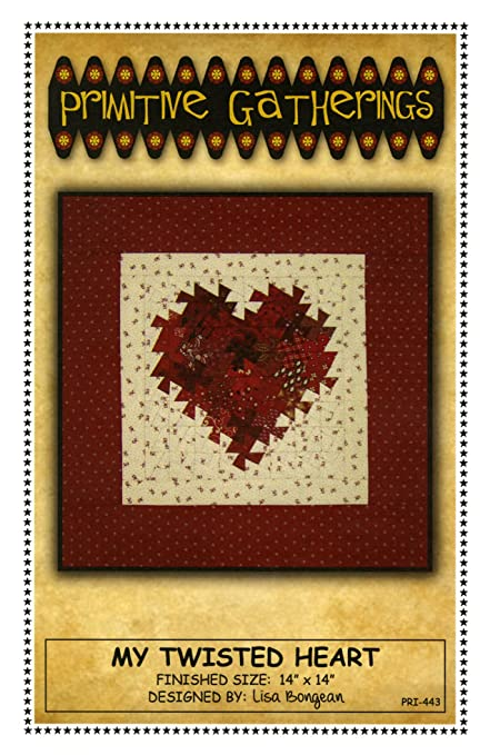 Amazon My Twisted Heart Quilt Pattern Using The Itty Bitty Best Twister Quilt Pattern