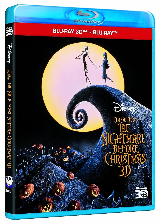 The Nightmare Before Christmas Blu-ray 3D + Blu-ray: Amazon.co.uk ...