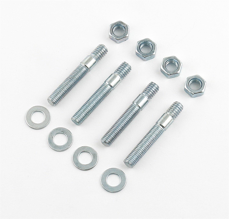 "2/"" Carburetor Stud Nut Washer Kit 5//16-24 Fine Thread Course Base"