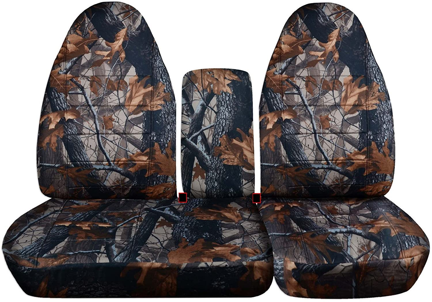 Surprising 1997 2000 Ford F 150 Camo Truck Seat Covers Front 40 60 Split Bench With Opening Center Console Solid Armrest Wetland Camouflage 16 Prints 1998 Machost Co Dining Chair Design Ideas Machostcouk