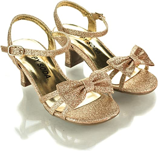 incredible prices outlet shades of Amazon.com   Aquapillar Children High Heel, Girl's High Heel Dress ...