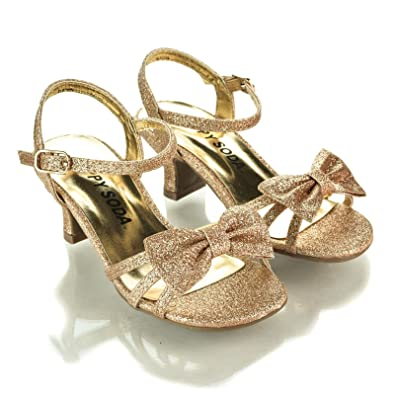 4f3772eea Aquapillar KDS GirlyGold Children High Heel