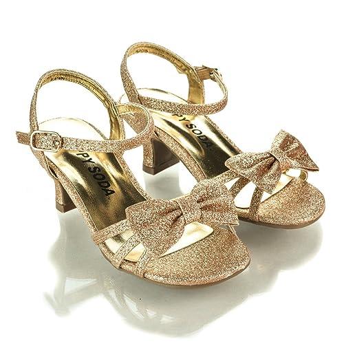 1dd7994cd8a Aquapillar Children High Heel, Girl's High Heel Dress Sandal, Kids Shoes