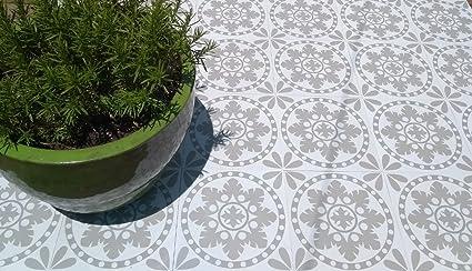 Zazous sorzano salvia autoadesiva in vinile piastrelle pavimento