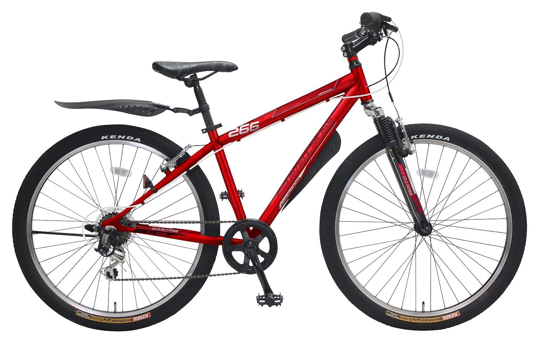 marukin(マルキン) 自転車 24型 ジュニアマウンテン グラベルクロス B01CJQZIU4レッド