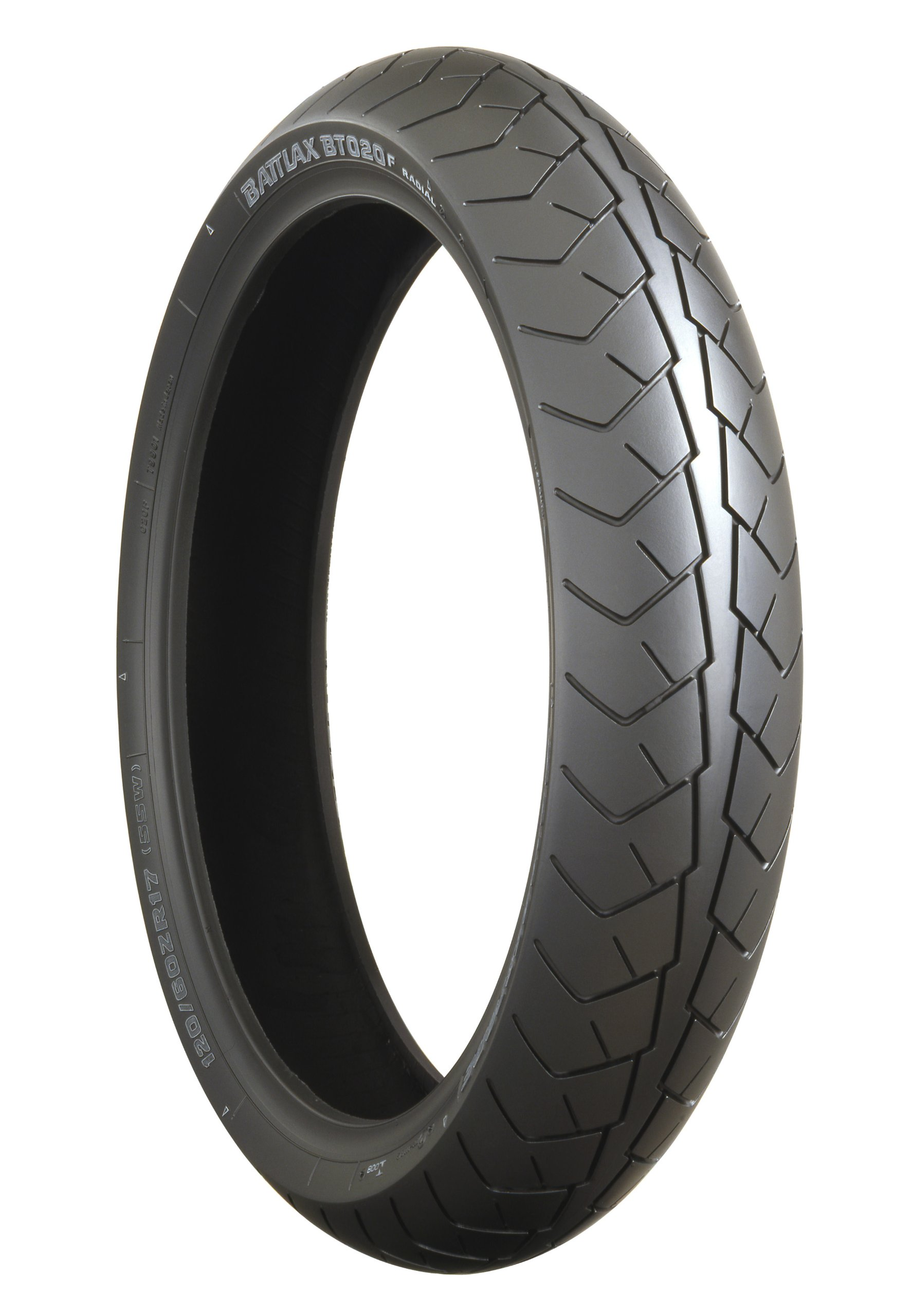 Bridgestone BATTLAX BT-020 Sport/Touring Front Motorcycle Tire 120/70-18