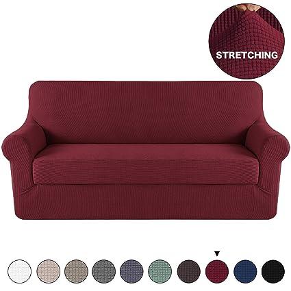 3 Seat Sofa Slipcover 3 Cushion Sofa Covers Pet Furniture Covers For ...