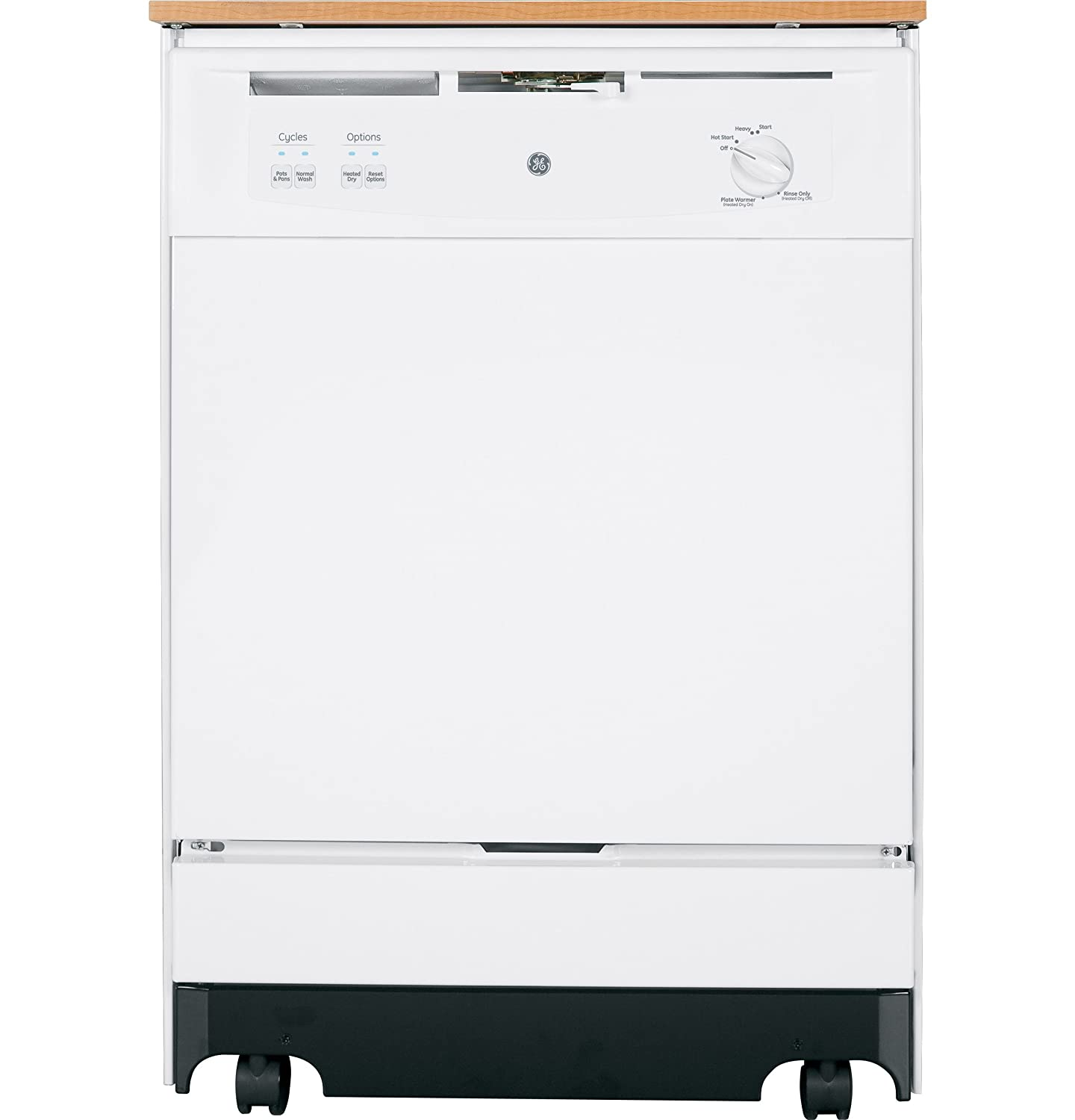 Ge Dishwahers Amazoncom Ge Gsc3500dww 24 White Portable Full Console