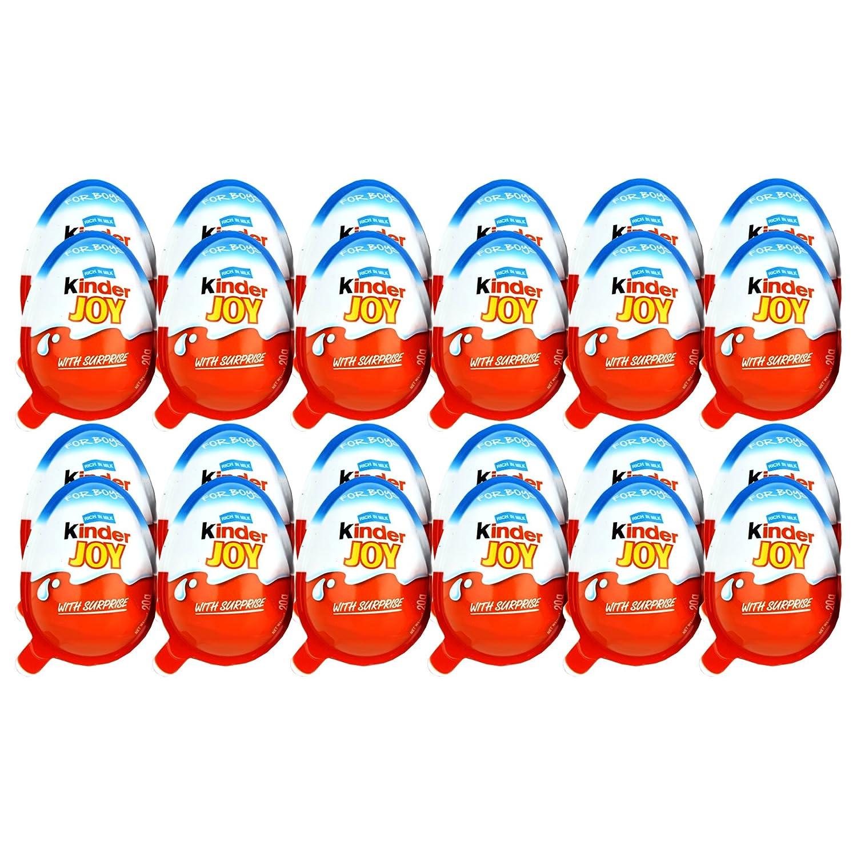 Kinder Joy Chocolates for Boys 24 Pieces Amazon Grocery