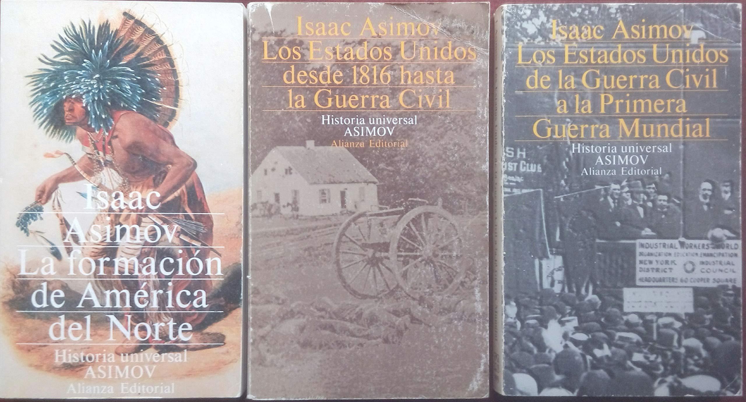 La formacion de América del norte historia universal asimov; t.11: Amazon.es: Asimov, Isaac: Libros