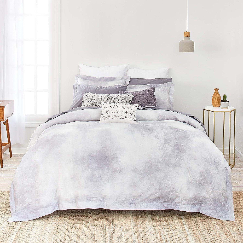 Splendid Home Milan Marble Comforter Set Twin Grey-Blue