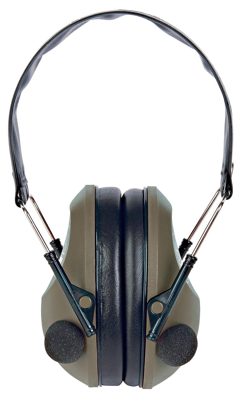 Smartreloader SR112 Cascos Electronicos Stereo Ultra-Slim, Banda de acero inoxidable, plug de 3,5mm para Walkie-Talkie o MP3 [OD-Green]: Amazon.es: Deportes ...