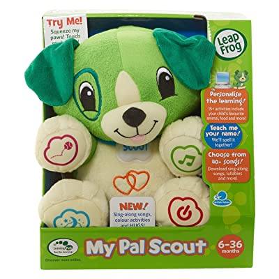 Leap Frog My Pal Scout by Juliet's Kiss: Toys & Games