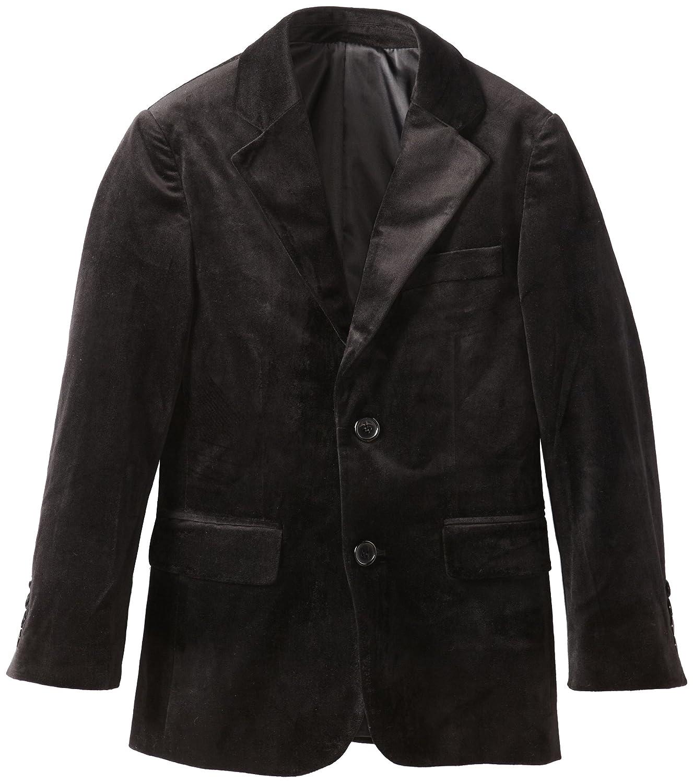Isaac Mizrahi Big Boys Solid Velvet Blazer Jacket Isaac Mizrahi Boys 8-20 8012B