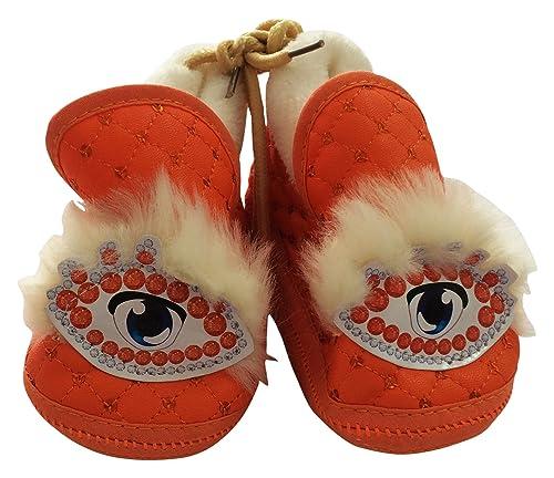 9f551c613de Graceway Kids Orange Cotton Booties Free Size available at Amazon for Rs.349