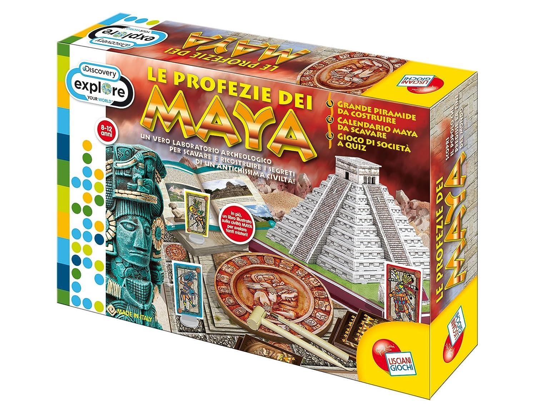 Liscianigiochi 41091 Discovery - Juego sobre los mayas [Importado de Italia]