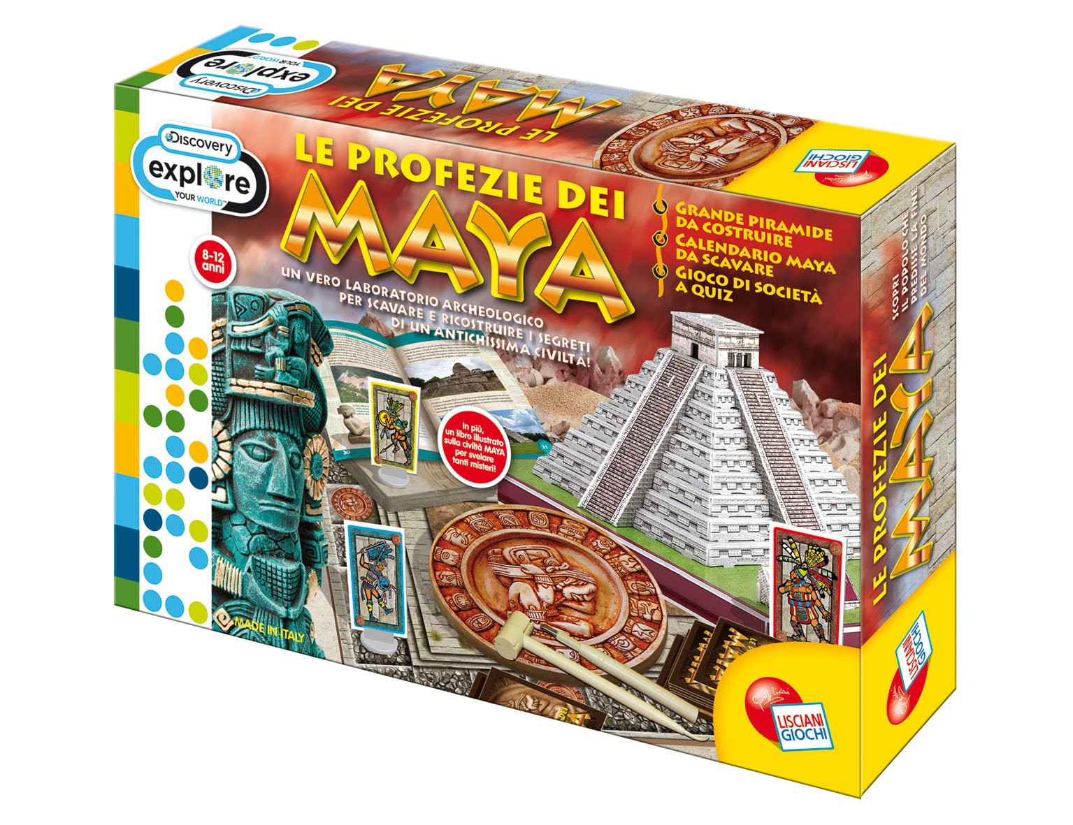 liscianigiochi 41091Discovery-Game On The Mayas [Imported from Italy]