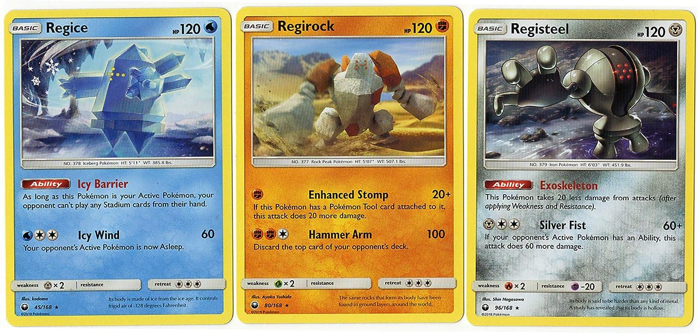 Amazon.com: Pokemon - Juego de 3 tarjetas de recuerdo con ...
