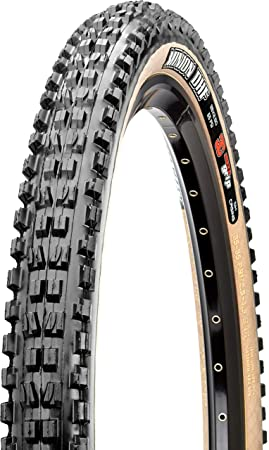 Product title: Maxxis Minion DHF Folding Dual Compound Exo/tr/skin Wall  Tyre - Black/Pear, 27 5 x 2 30-Inch