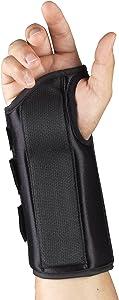 OTC Wrist Splint, Adult Support Brace, X-Small, 8 Inch (Right Hand)