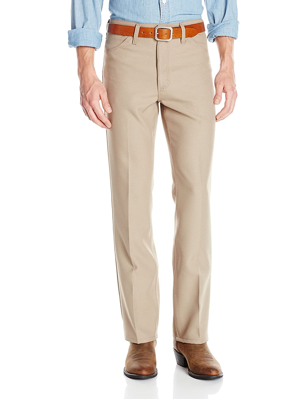 Wrancher vestido Jean de hombres Wrangler, marrón, 31 x 30 ...