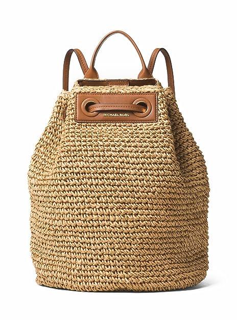 693c597b50cc MICHAEL MICHAEL KORS Krissy Large Straw Backpack: Amazon.ca: Shoes &  Handbags