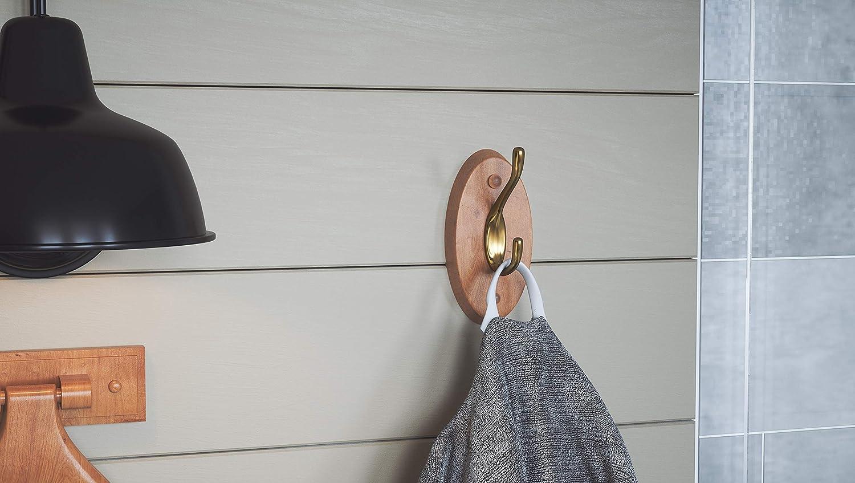 Amazon.com: Design House 561217 Dalton doble Robe Hook ...