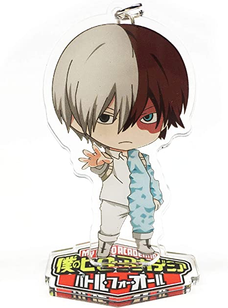 Yvetel My Hero Academia Anime Boku No Hero Academia Manga Acrylic Desk Decoration Figure Keychain Izuku Midoriya Katsuki Bakugo Shoto Todoroki