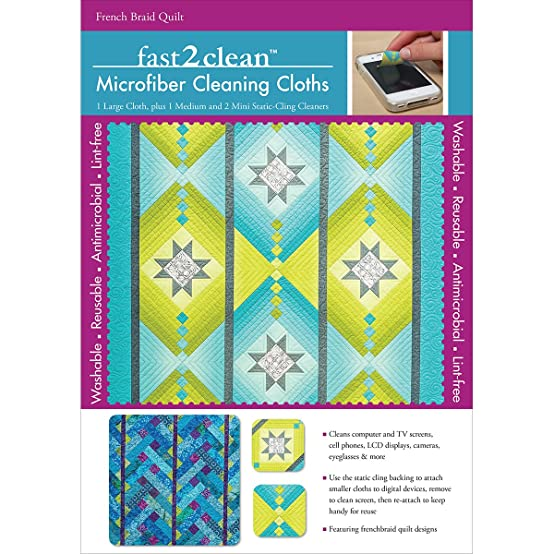 Amazon Fast2clean Microfiber Cleaning Cloths French Braid