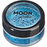 Holographic Glitter Shakers by Moon Glitter - 100% Cosmetic Glitter for Face, Body, Nails, Hair and Lips - 5g