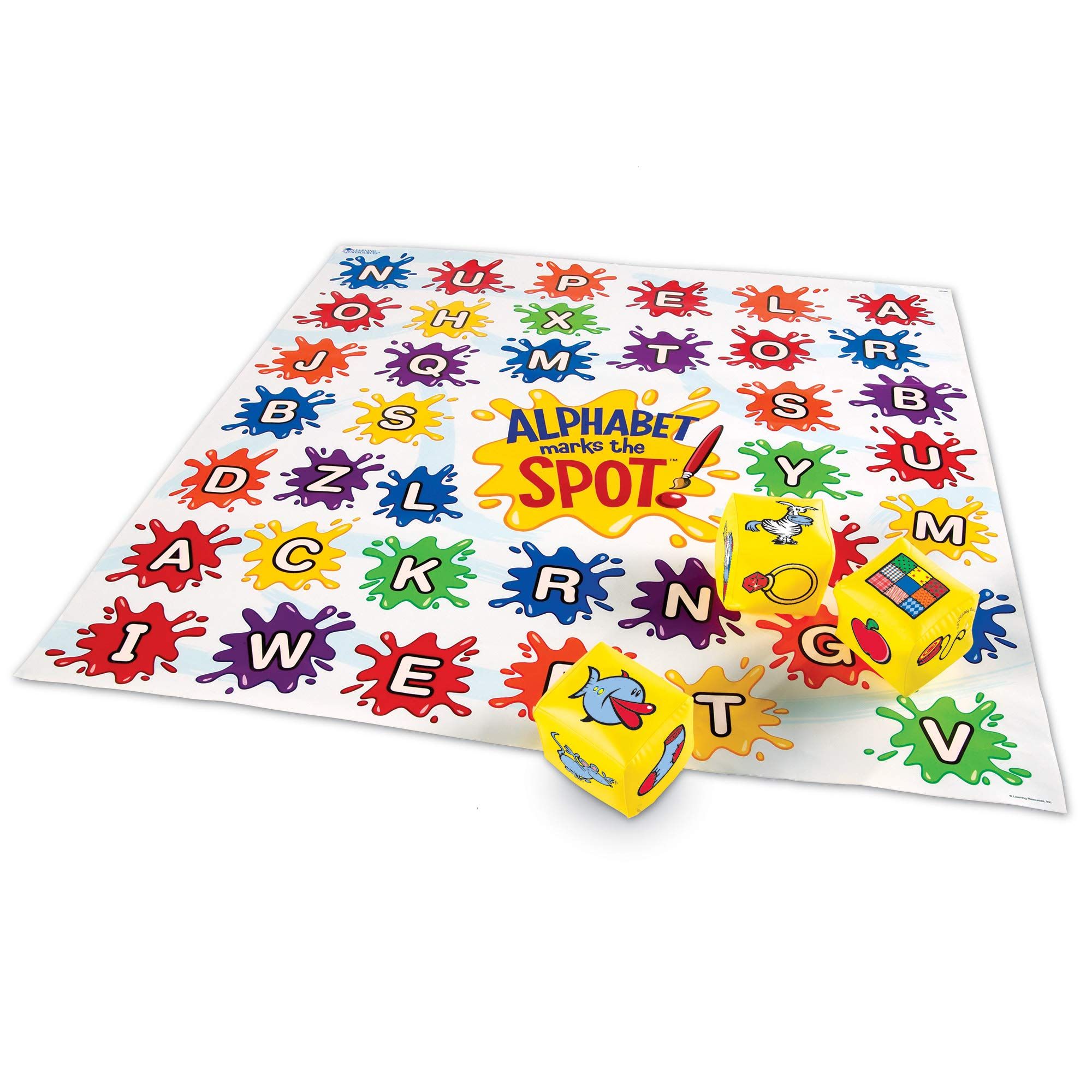 Learning Resources Alphabet Marks The Spot Floor Mat by Learning Resources