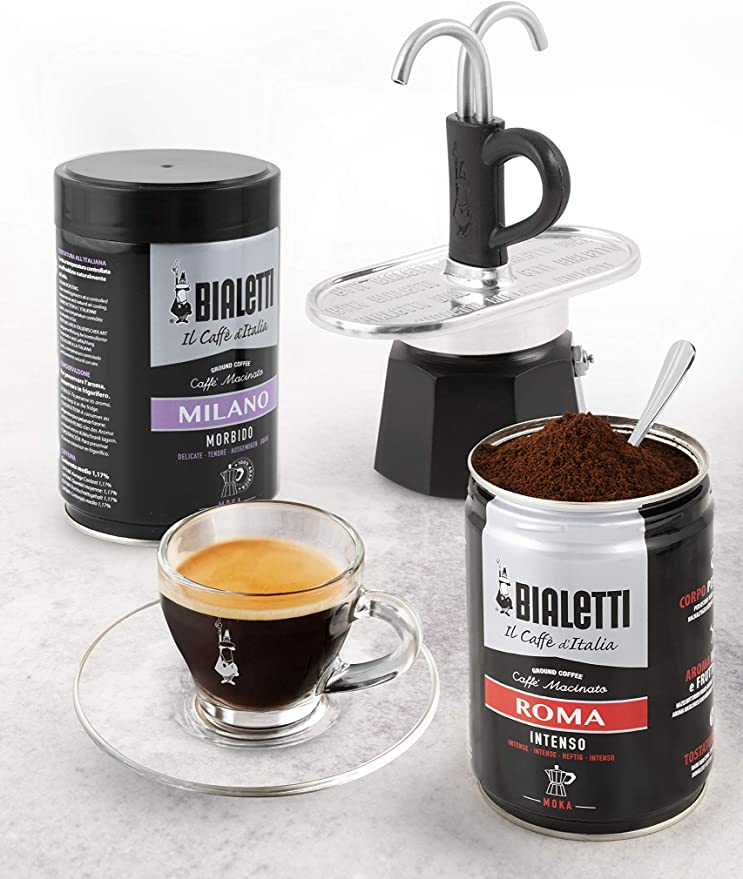 Bialetti Mini Express, cafetera de 2 tazas, aluminio: Amazon.es: Hogar