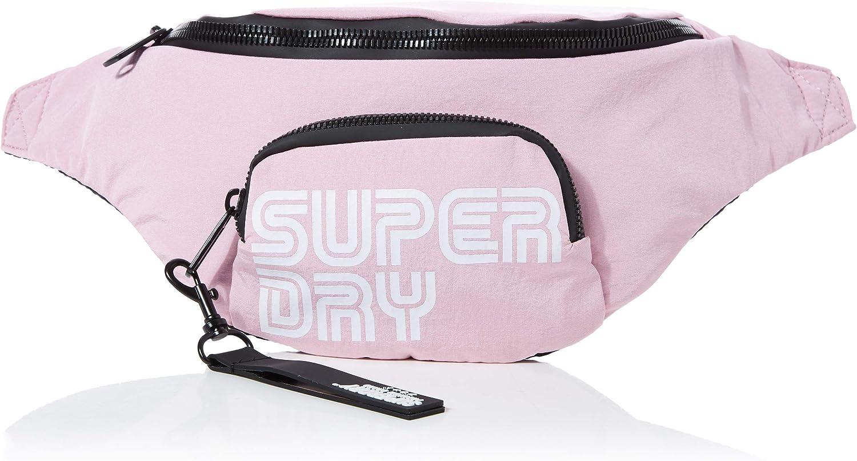 W x H x L Superdry Nostalgia Bum Bag Women/'s Wallet 40x10x16 centimeters Pale Pink Pink
