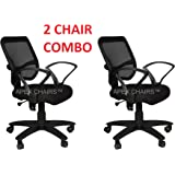 APEX Chairs TRAX Medium Back Office Chair(Combo Pack)