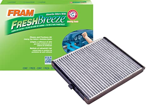 Amazon Fram Cf10546 Fresh Breeze Cabin Air Filter With Arm