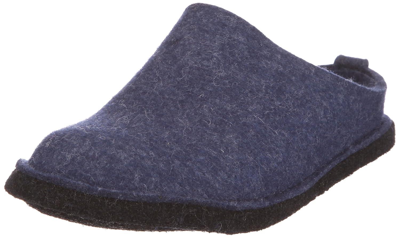 Haflinger - Soft, Pantofole A Casa, unisex Blu (Blau/Jeans)