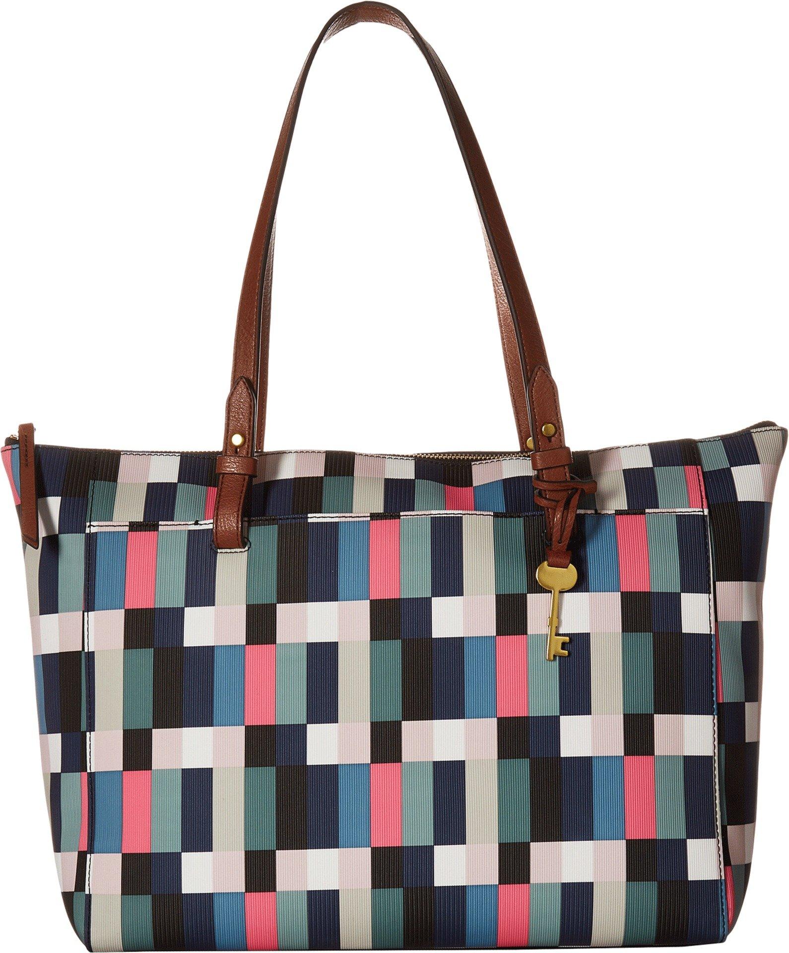 Fossil Rachel TOP Zip Tote Bag, Bright Multi
