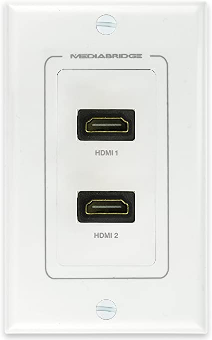 HDMI Wall Plate 1 Outlet FAST FREE USA SHIPPING SELLER