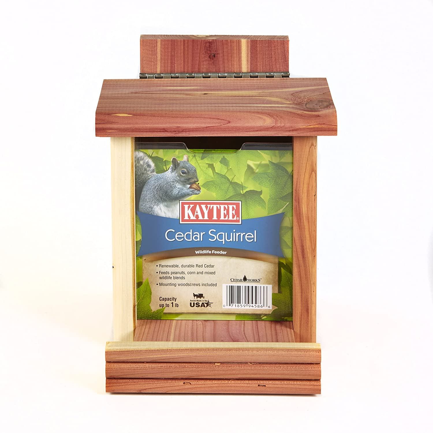 Kaytee Cedar Squirrel Feeder 100506552