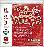 Paleo Wraps®  (7 Individual Wraps) (Gluten-Free) (Low Carb) (Keto)