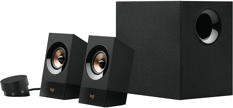 Logitech Multimedia Speaker System Z8 - Black