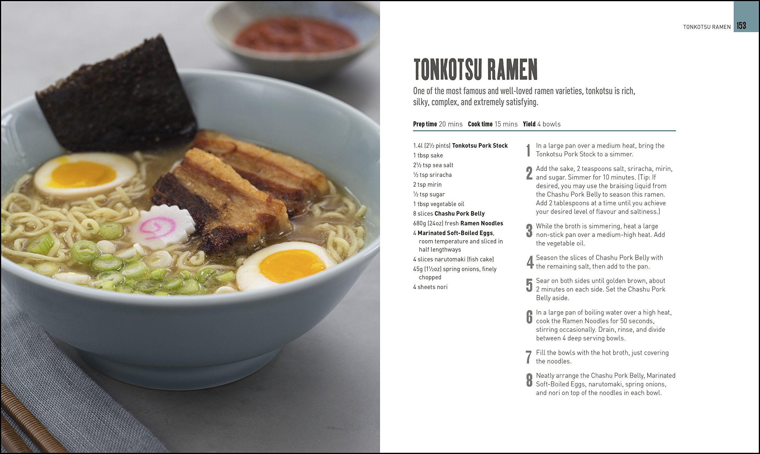 Ramen Noodle Cookbook: 40 Traditional Recipes and Modern Makeovers