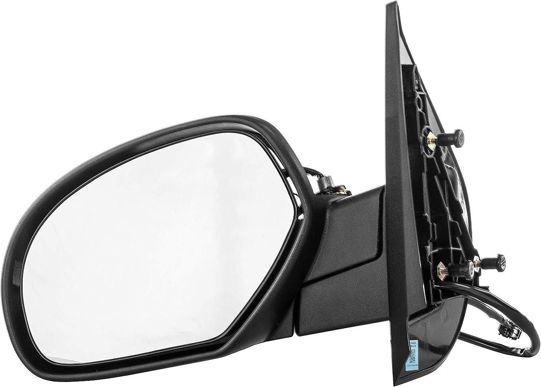 New Left//Driver Side Mirror w//o Glass Signal For Chevrolet //GMC Trucks 2007-2014