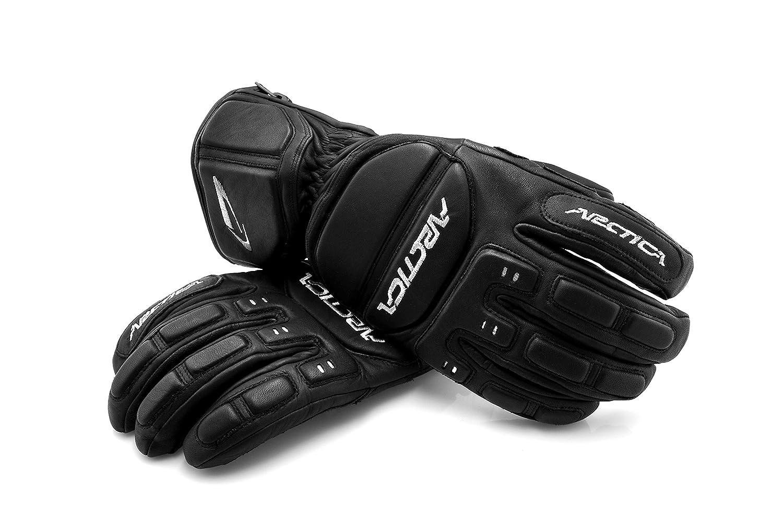Arctica® SG-01 Ski-Snowboard Handschuhe 100% Natur Leder