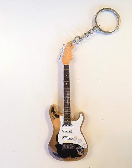 John Mayer – Fender guitarra Stratocaster negro 1 – Llavero y imán ...