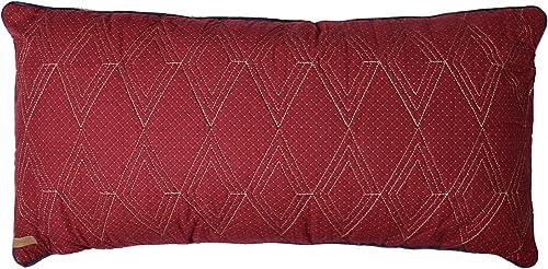 Donna Sharp Throw Pillow – Gatlinburg Star Contemporary Decorative Throw Pillow with Textured Pattern – Rectangular