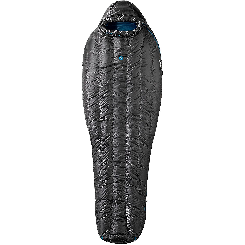 Marmot Plasma 15 - Sacos de dormir - Long azul/negro 2016: Amazon.es: Deportes y aire libre