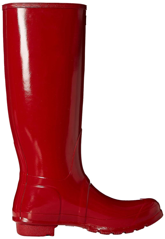 Hunter Women's Original Tall Rain Boot B00K1XCPHM 6 B(M) US|Military Red