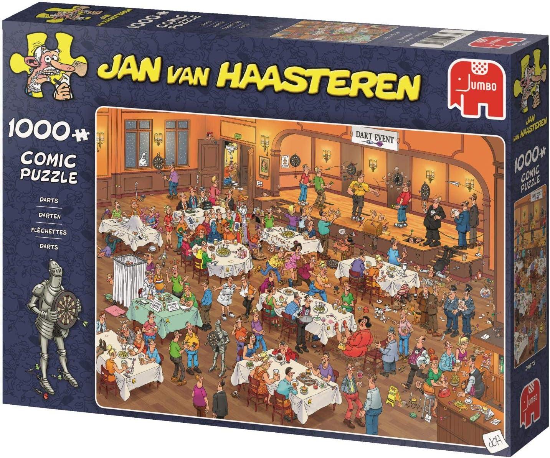 Jan van Haasteren Darts 1000 piece